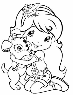 Strawberry Shortcake Coloring Pages for Girls   74517