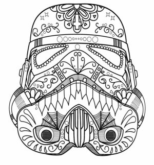 Sugar Skull Coloring Pages for Grown Ups   54189