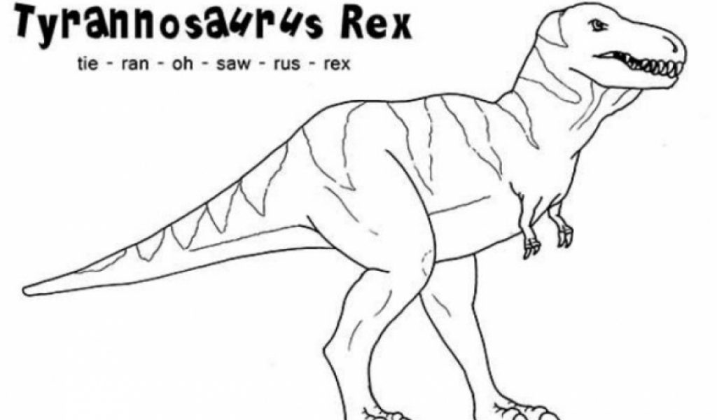 t rex coloring pages free printable 9548
