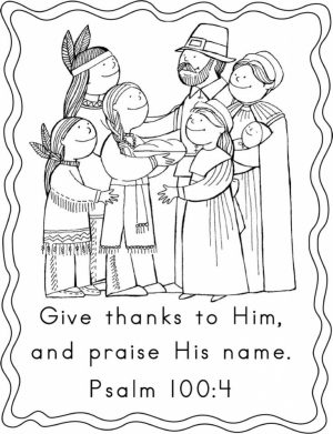 Thanksgiving Coloring Sheets for Kindergarten   95na2