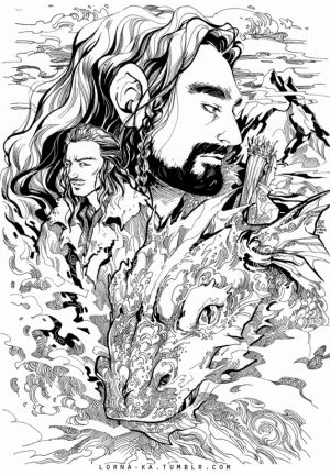The Hobbit Coloring Pages   9182