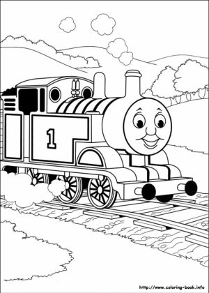 Thomas And Friends Coloring Pages for Toddlers   xM7zV