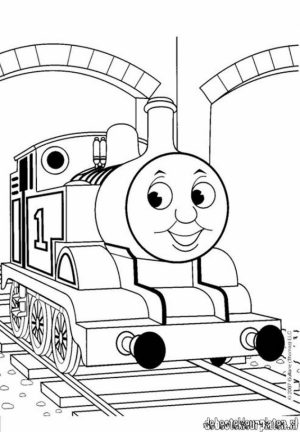 Thomas And Friends Coloring Pages to Print Online   K0X5s