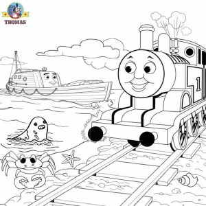 Thomas the Tank Engine Coloring Pages Online   15337