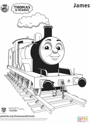 Thomas the Train Coloring Pages Printable   51452