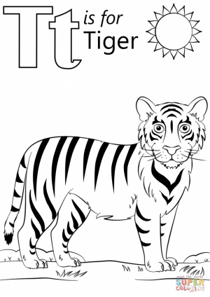 Tiger Coloring Pages Printable   08315