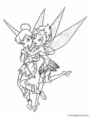 Tinker Bell Online Coloring Pages for Girls   77469