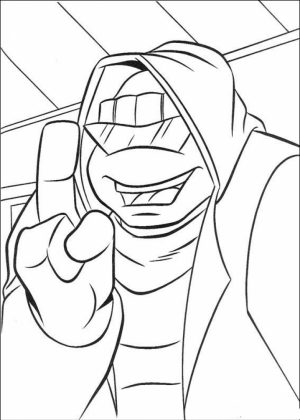 TMNT Ninja Turtles Coloring Pages Printable   41271