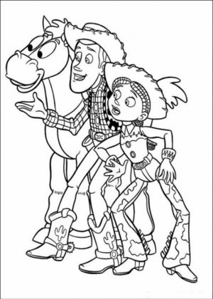 Toy Story Coloring Pages Online   23654
