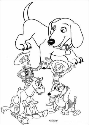 Toy Story Coloring Pages to Print Out   16455