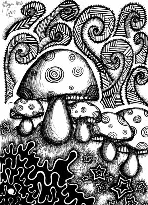 Trippy Coloring Pages for Adults   72CG0