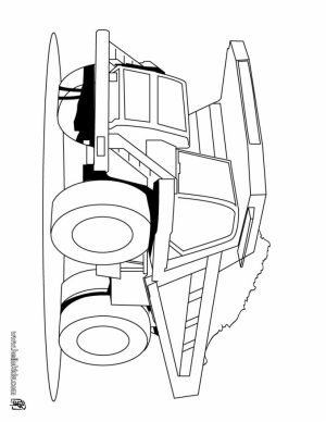 Truck Coloring Pages to Print   316728