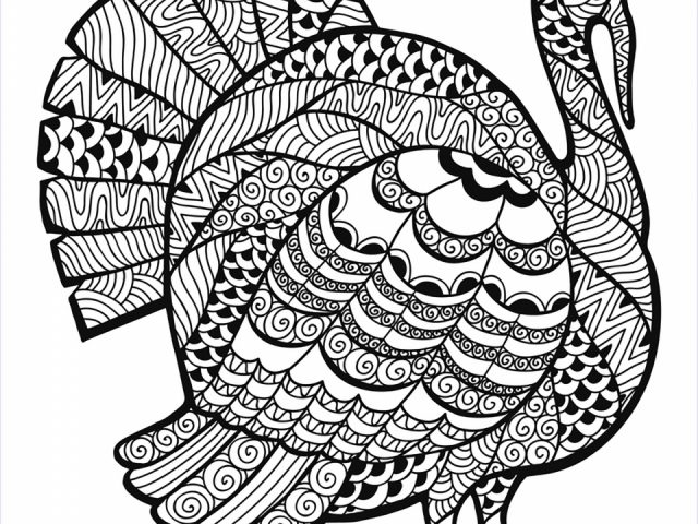 Get This Turkey Coloring Pages for Adults 93172