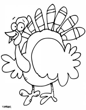 Turkey Coloring Pages for Kids   46244