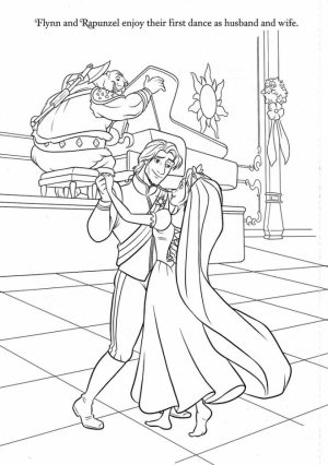 Wedding Coloring Pages Online   09186