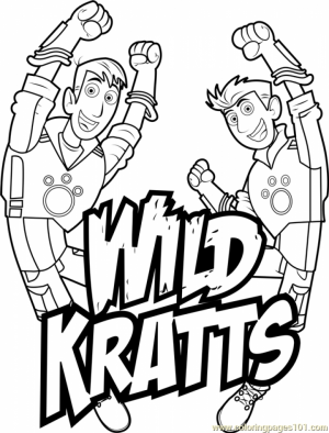 wild kratts coloring pages printable - photo#26