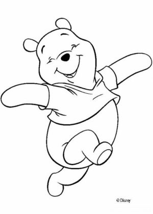 Winnie the Pooh Coloring Pages to Print for Kids   47169