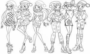 Winx Club Coloring Pages Free to Print   j6hdb