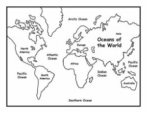 World Map Coloring Pages Online Printable   nhywg