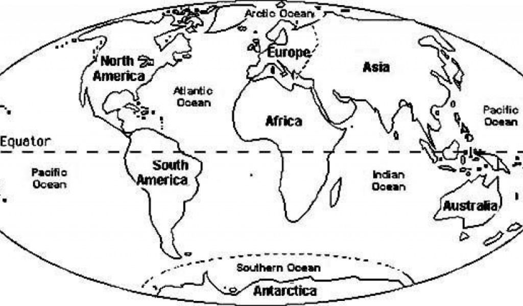 Get This World Map Coloring Pages To Print For Kids Aiwkr