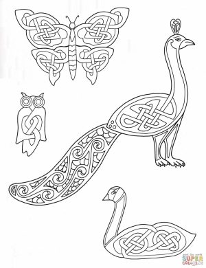 Zentangle celtic art design coloring pages   khlo9