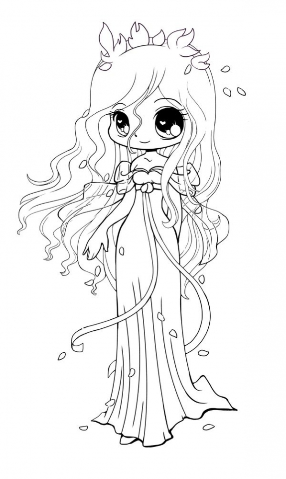 Get This Chibi Coloring Pages Printable for Kids WY71R !
