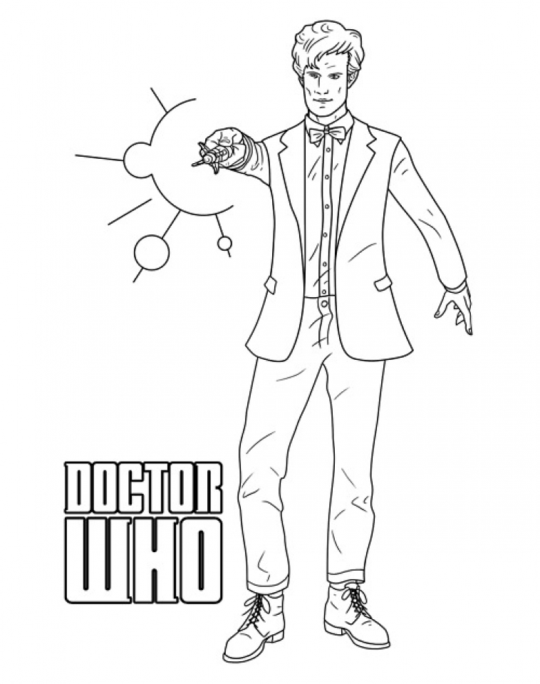 doctor who coloring pages for kids | Get This Doctor Who Coloring Pages to Print for Kids Q1CIN