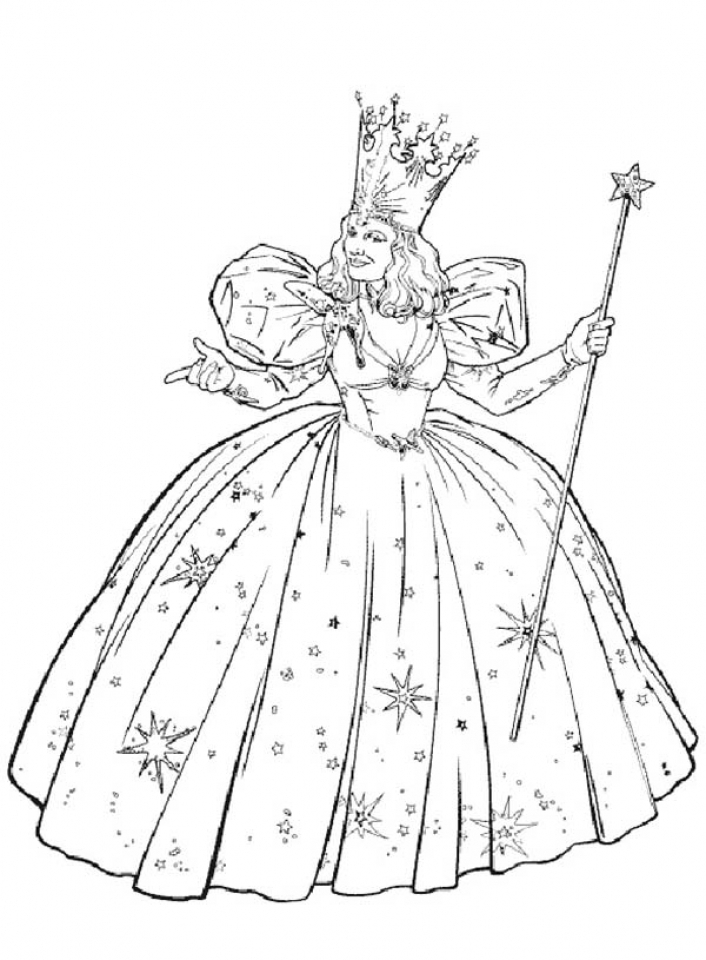 wizard oz coloring pages - photo#23