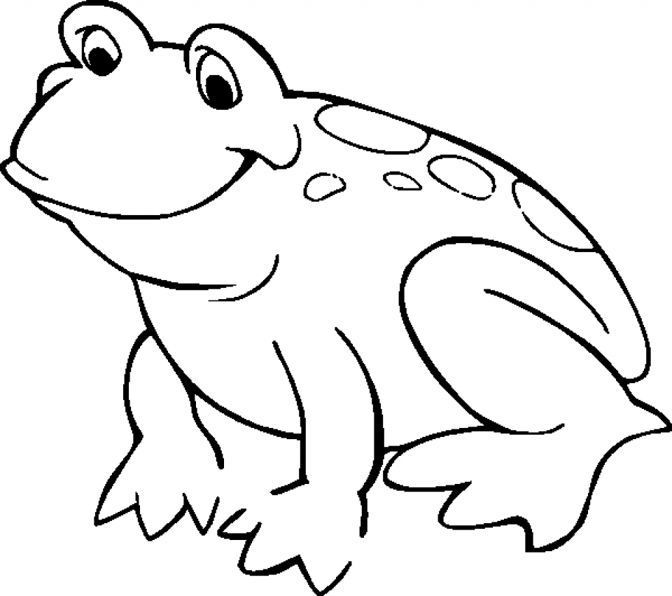 Get This Free Printable Frog Coloring Pages for Kids HAKT6 !