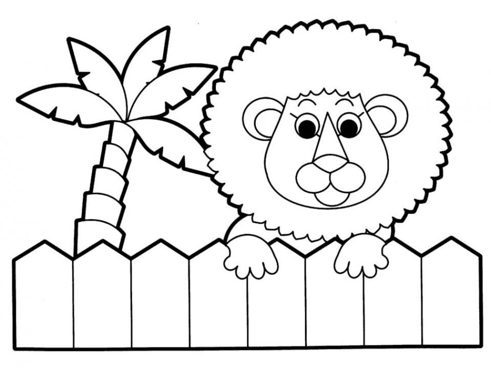kids printable animals coloring pages free online g1o1z - Color Pages Online
