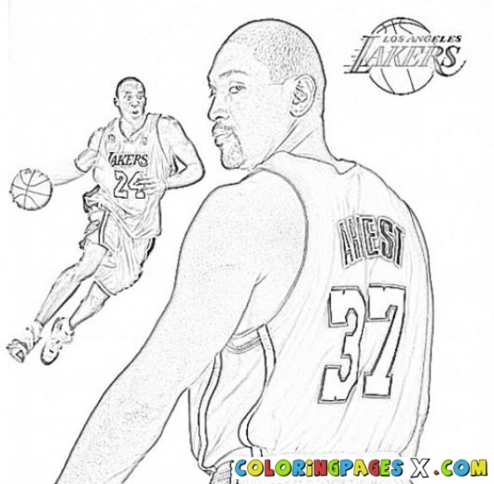 Nba coloring pages online - Kids Printable Nba Coloring Pages Free Online G1o1z