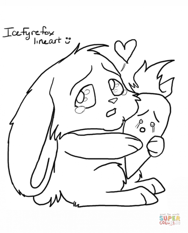 Kids Printable Rabbit Coloring Pages Free Online G1O1Z