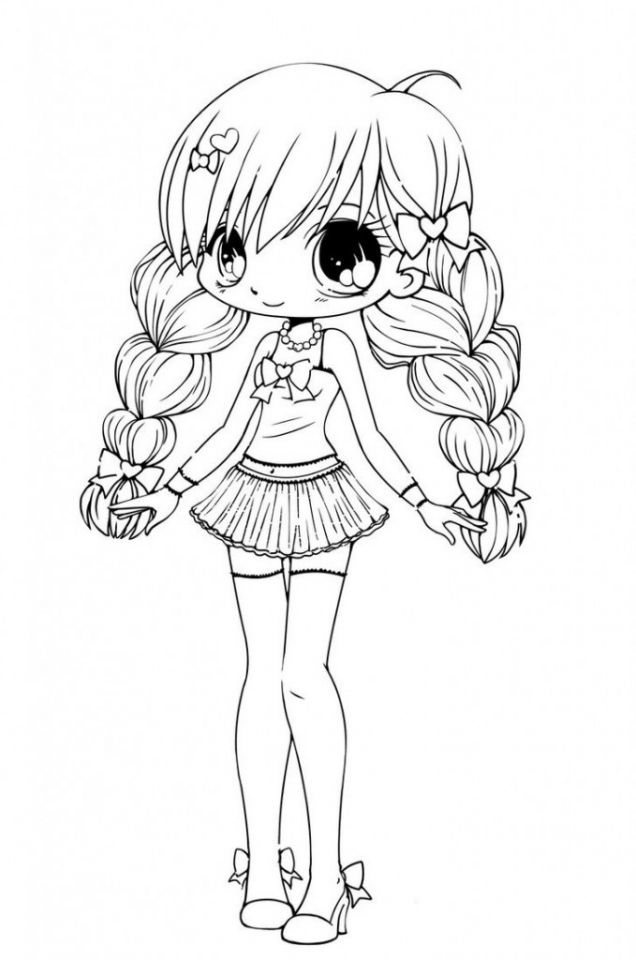 Get This Online Chibi Coloring Pages to Print B9149 !