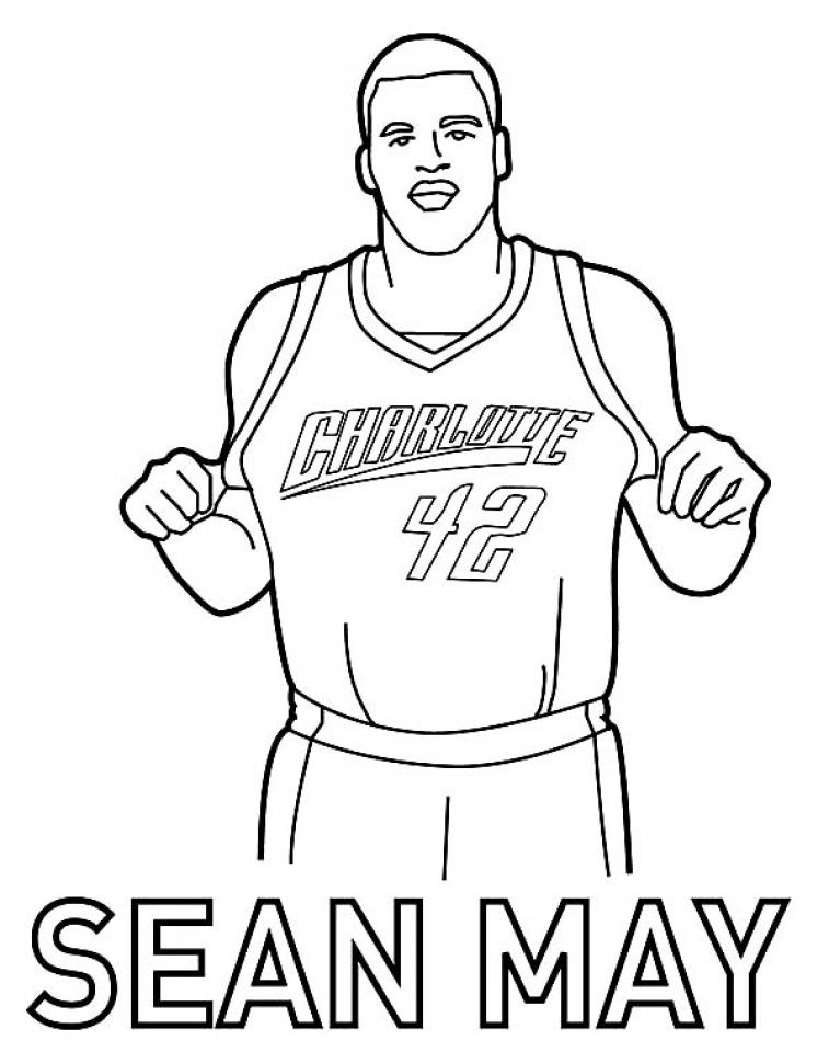 nba jerseys coloring pages - photo#3