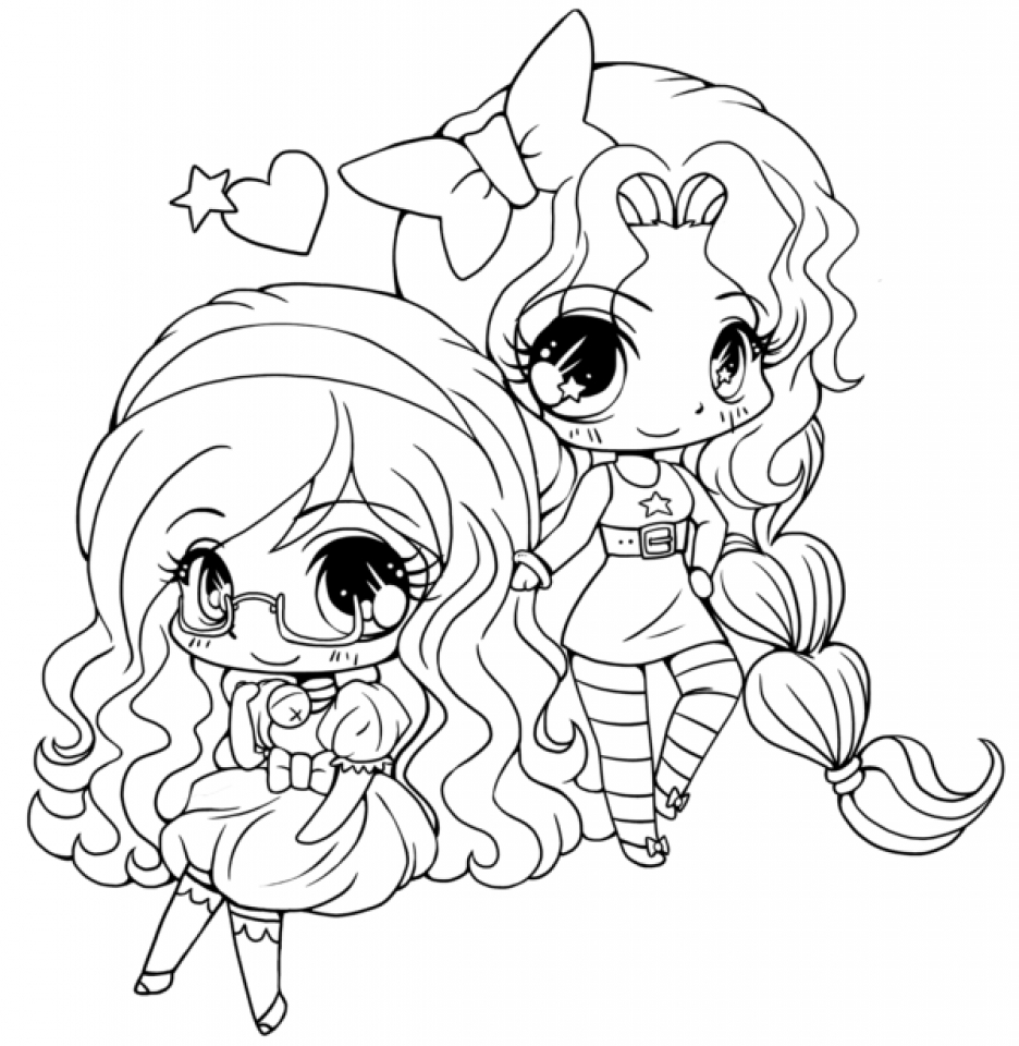 Get this printable chibi coloring pages for kids bv21z Coloring book for toddlers