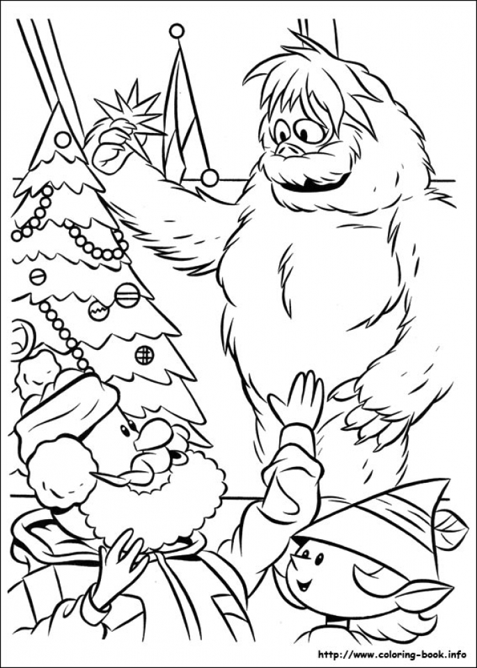 rudolph coloring page for toddlers mhts9 - Coloring Books For Toddlers