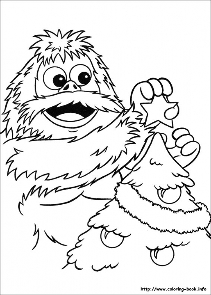 Get This Simple Rudolph Coloring Page To Print For
