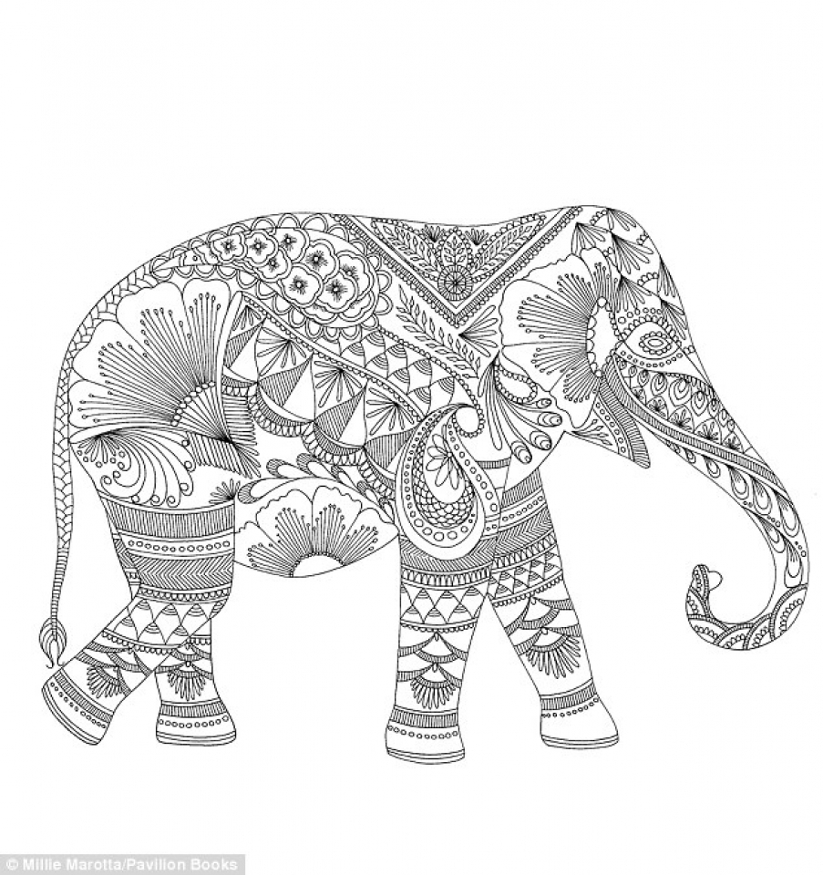 Abstract Elephant Coloring Pages 553218 Paw Patrol Free To Print 53867