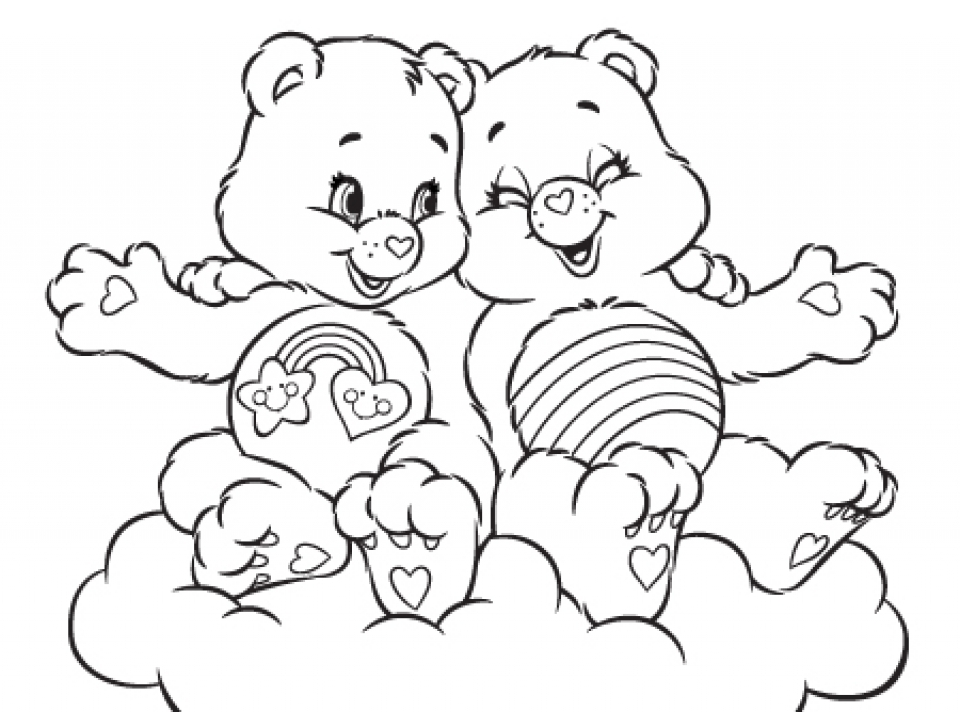 Care Bear Coloring Pages Online Printable Nhywg