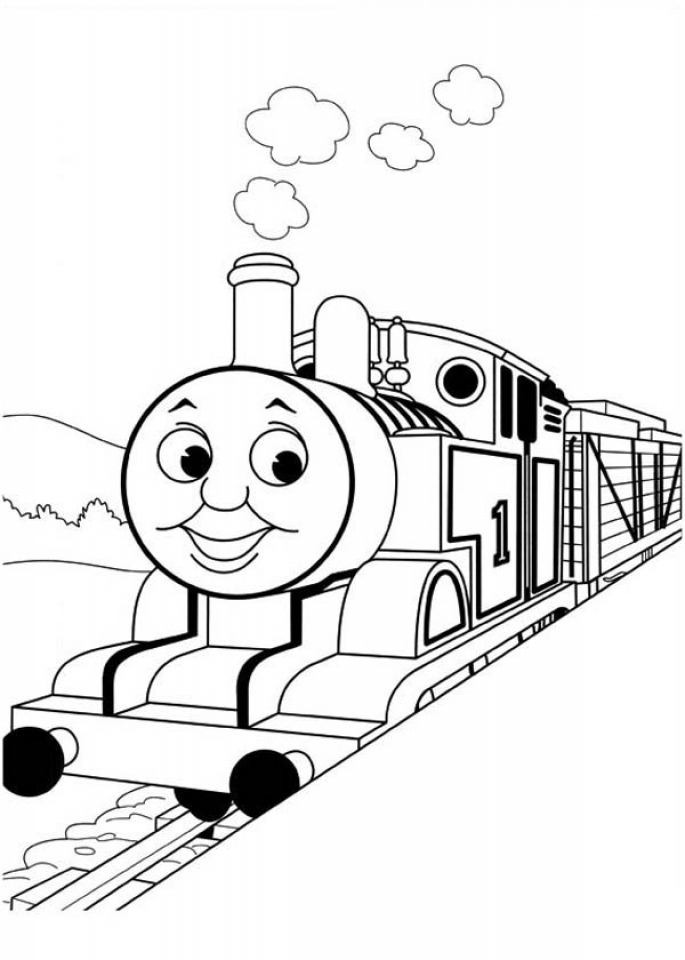thomas friends coloring pages printable