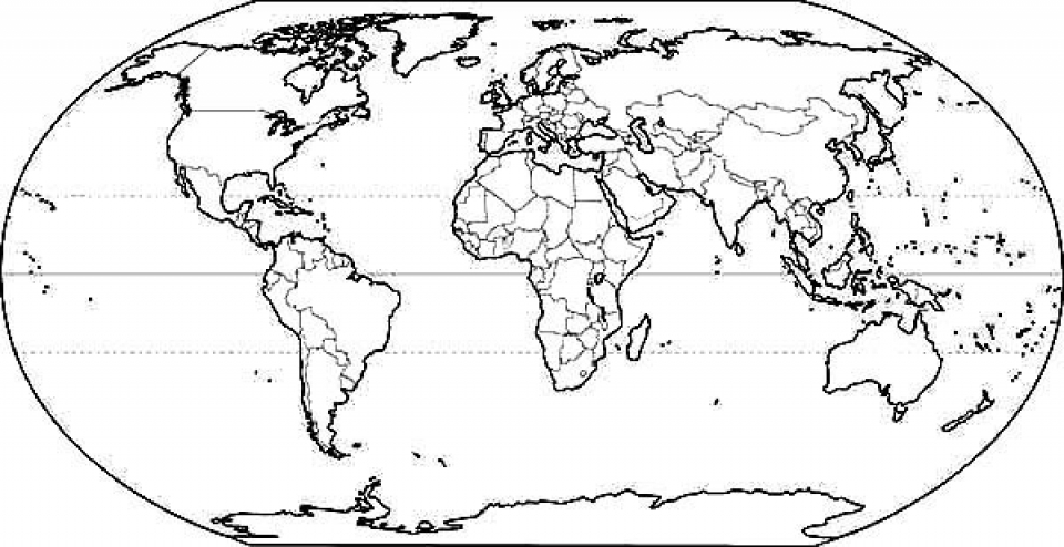 Get This Childrens Printable World Map Coloring Pages Tek - Printable childrens world map