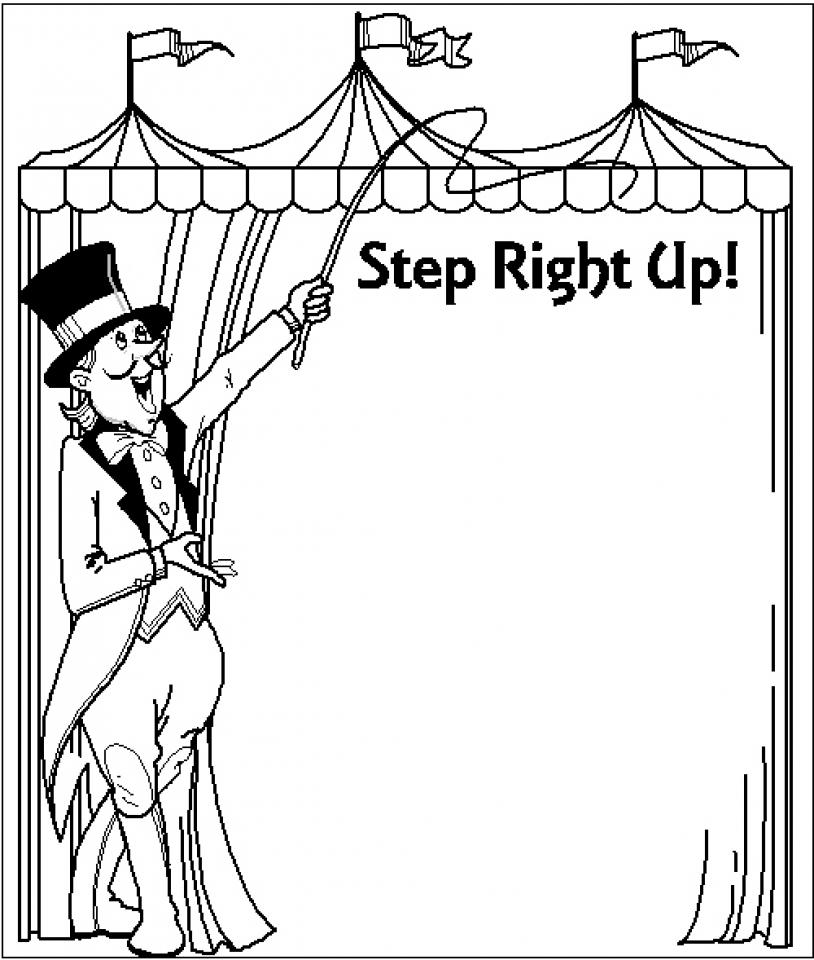 Get This Circus Coloring Pages Free Printable 51582 !