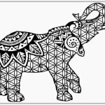 20+ Free Printable Hard Elephant Coloring Pages for Adults ...