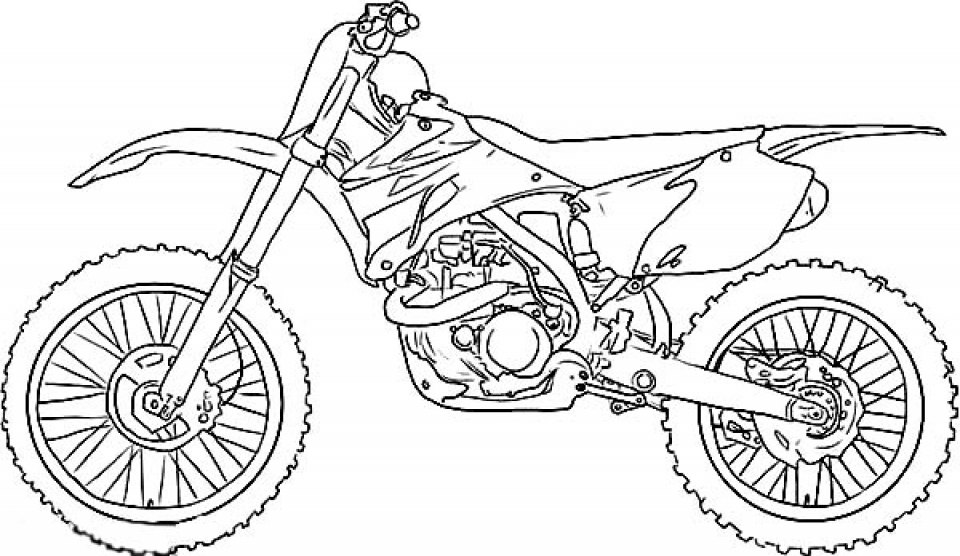Bike Coloring Pages Endearing Get This Dirt Bike Coloring Pages Free To Print J6Hdb Design Decoration