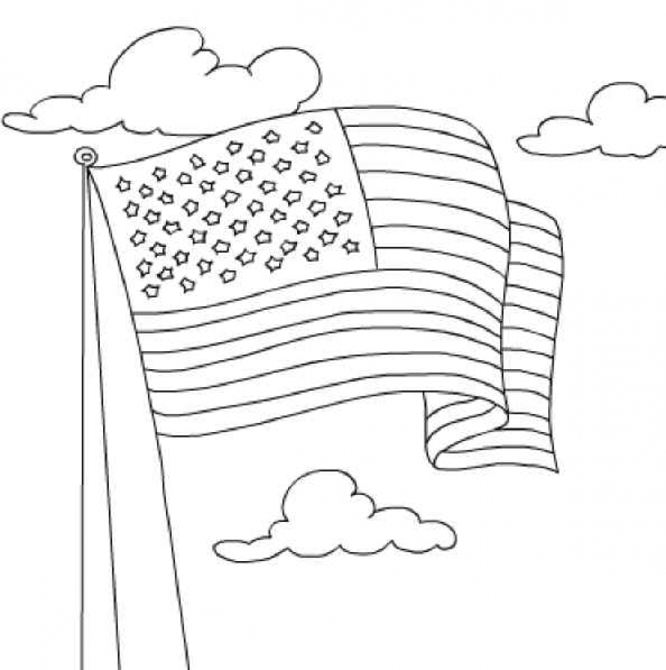 20 free printable american flag coloring pages everfreecoloring com