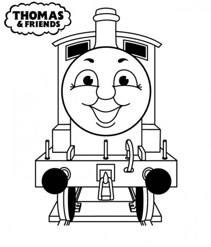 easy preschool printable of thomas and friends coloring pages a5bzr - Thomas Friend Coloring Pages