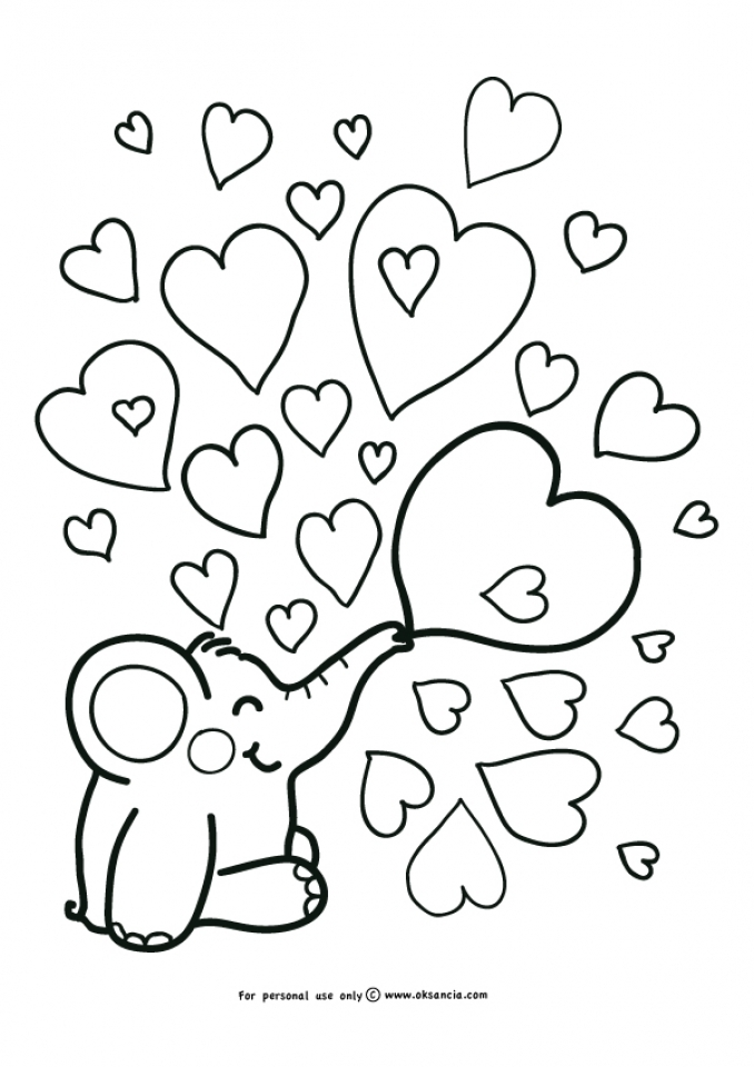 Get This Free Baby Elephant Coloring Pages For Preschoolers 67932 Baby Elephant Coloring Pages