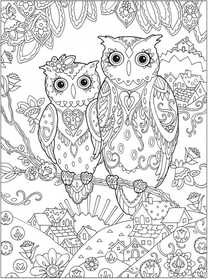 Free Grown Up Coloring Pages   92143