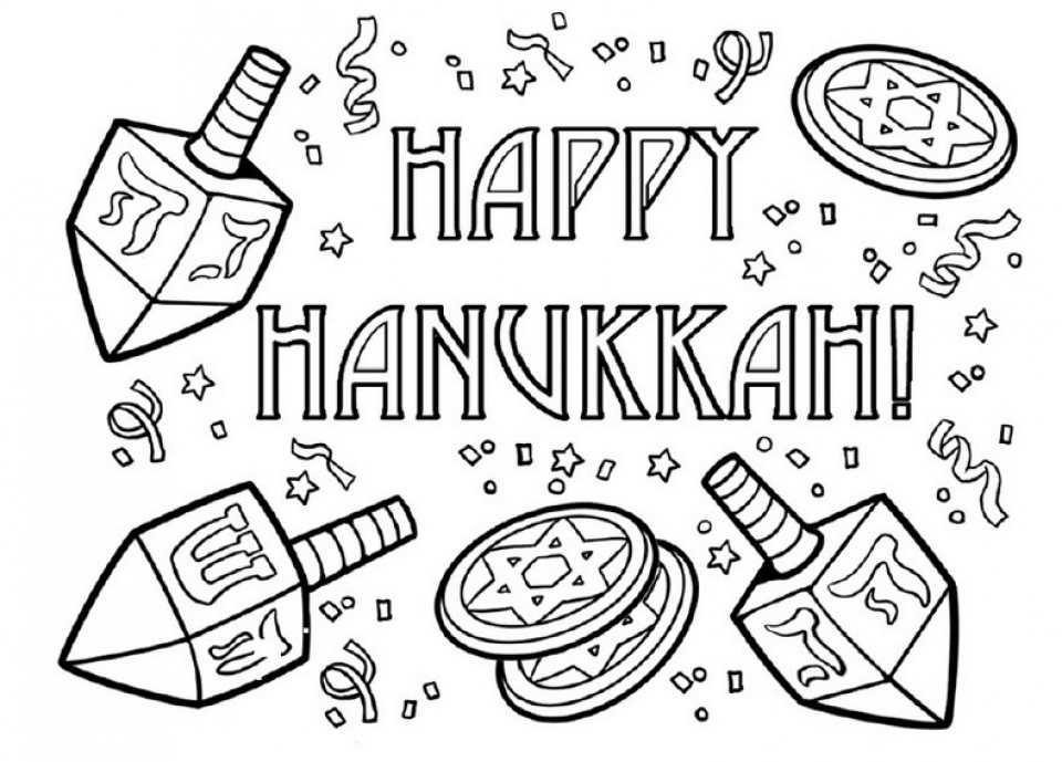 Get This Free Hanukkah Coloring Pages for Kids ddpA0