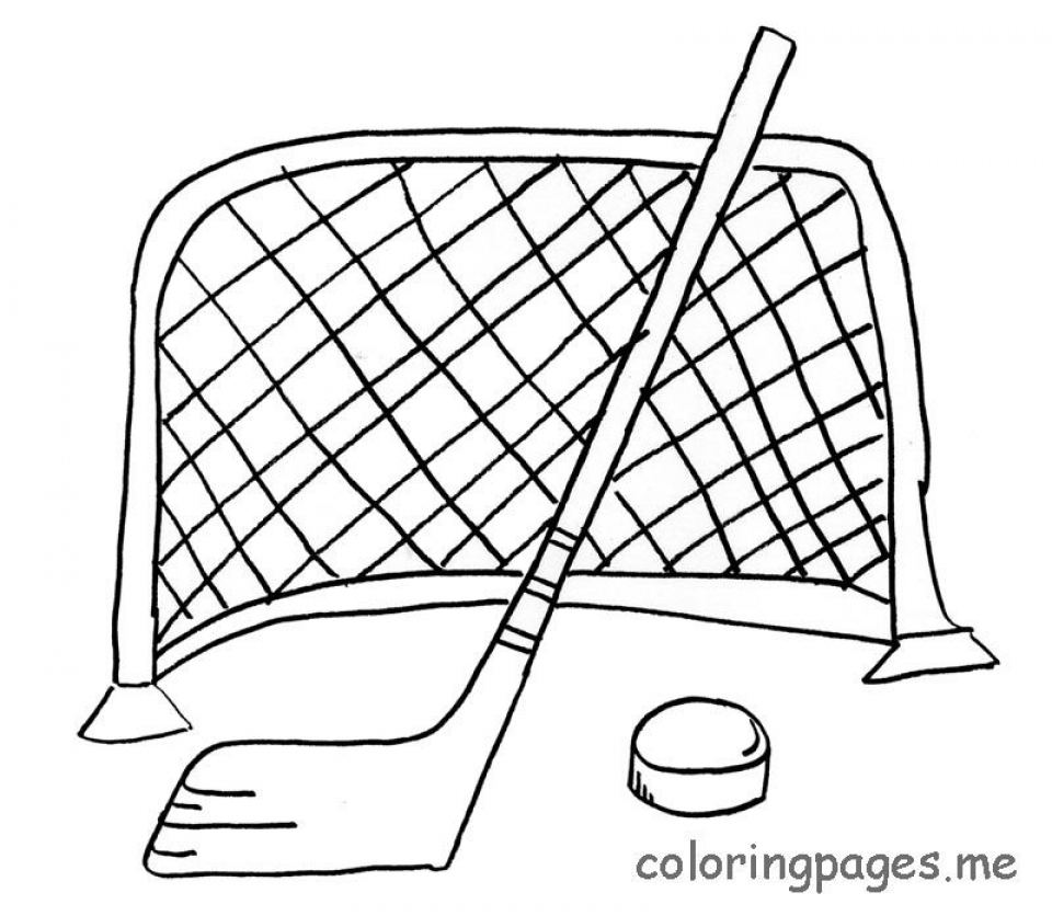 Get This Free Hockey Coloring Pages to Print 39122 !